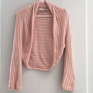 Baby Pink Armani Exchange Knit XS/S Sweater